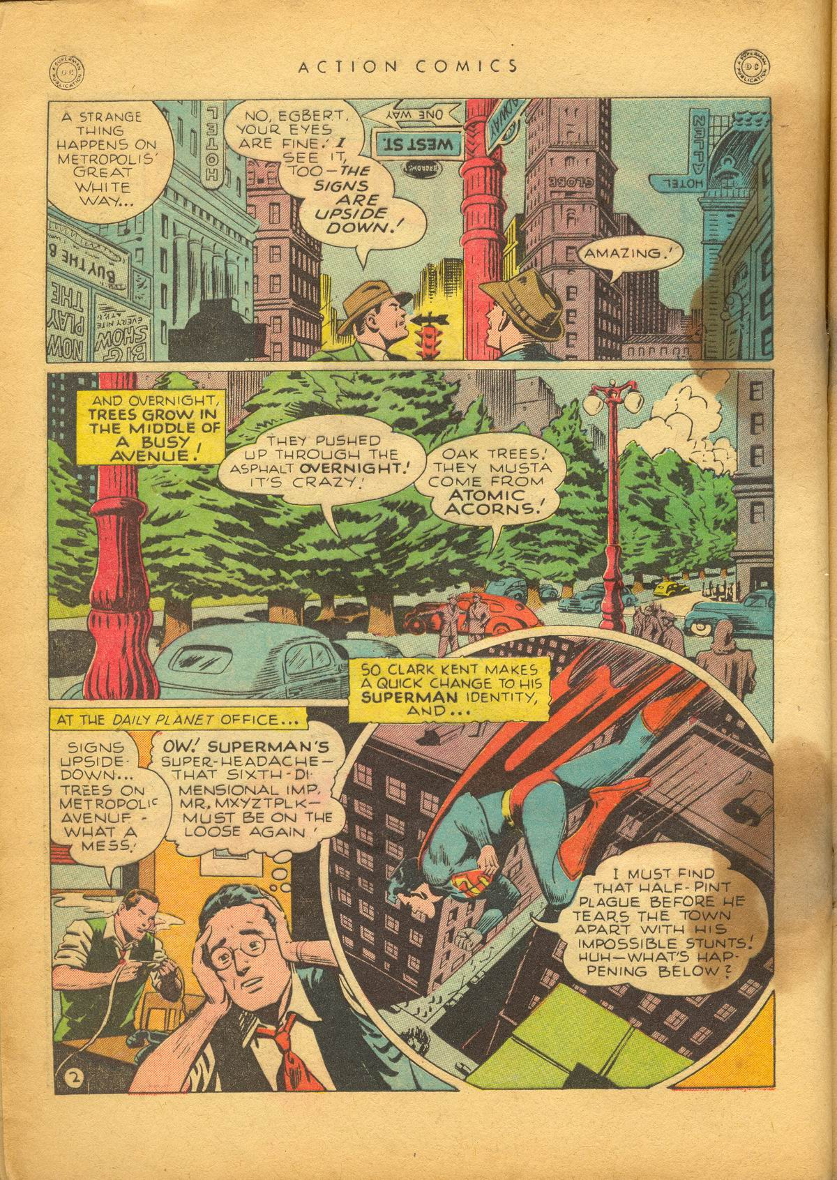 Read online Action Comics (1938) comic -  Issue #112 - 4
