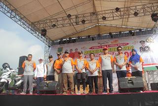 Deklarasi Anti Hoax Awali Jalan Sehat Family Run