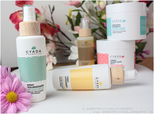 spray volumizzante review gyada cosmetics, vegan bio, capelli hair routine
