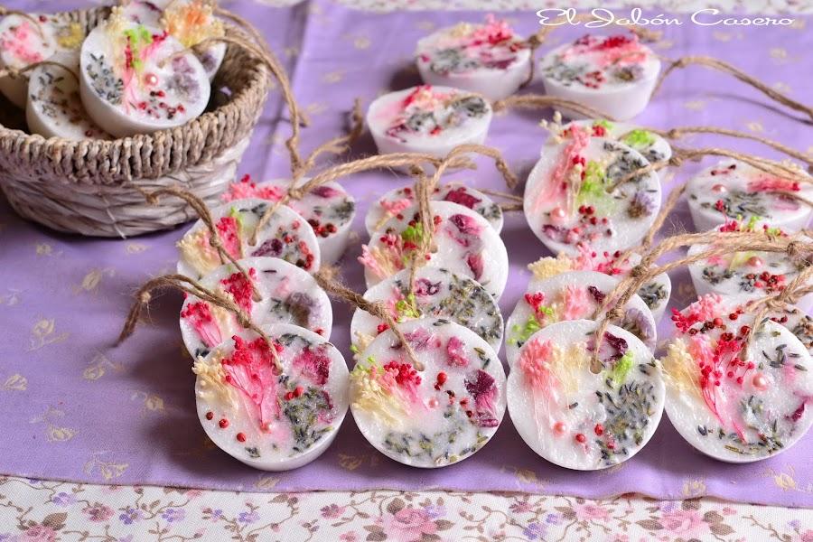 Detalles para bodas bautizos comuniones barritas perfumadas naturales