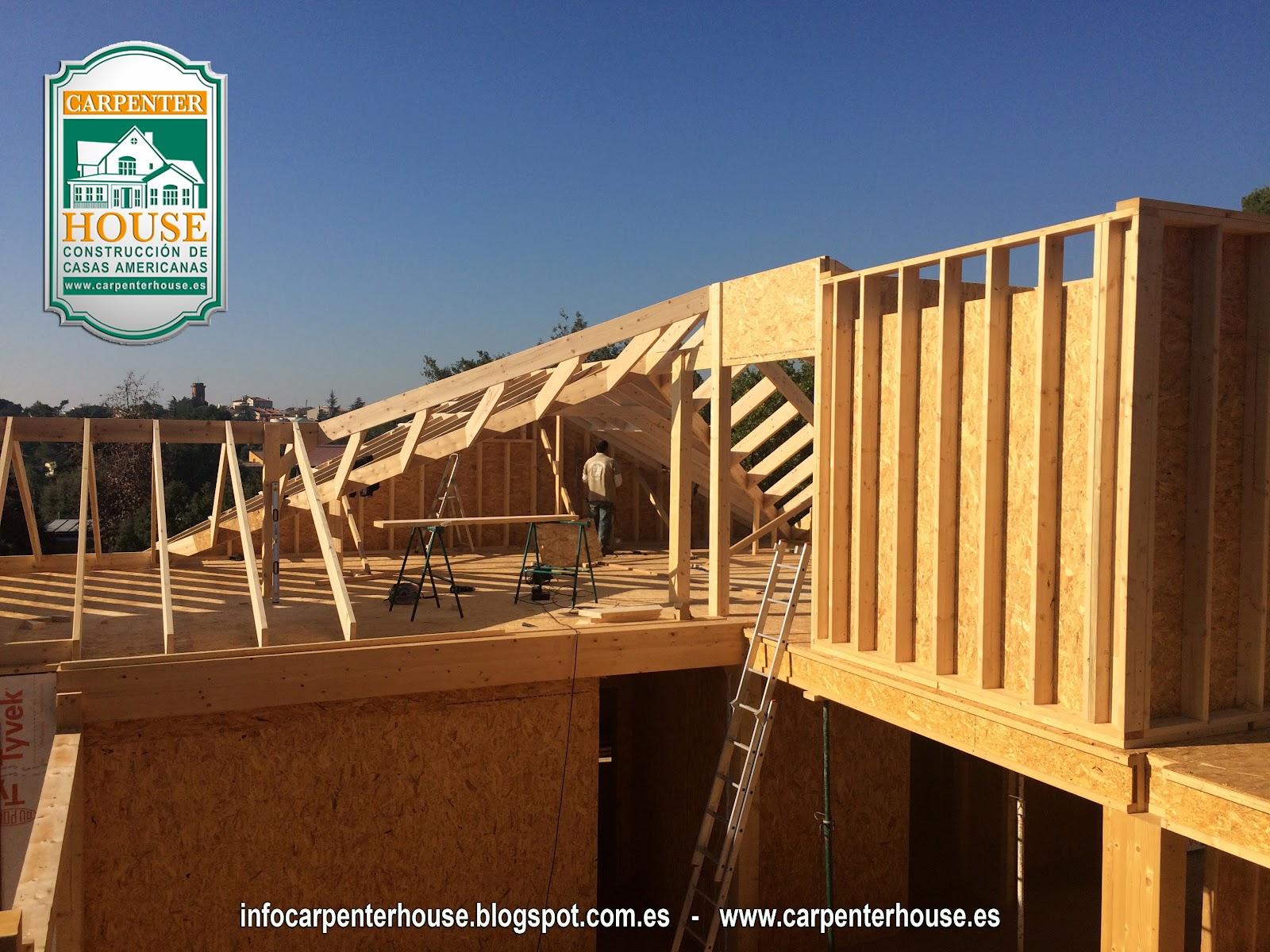 Carpenter house 4 fase construcci n casa en el vall s - Casas en valles occidental ...