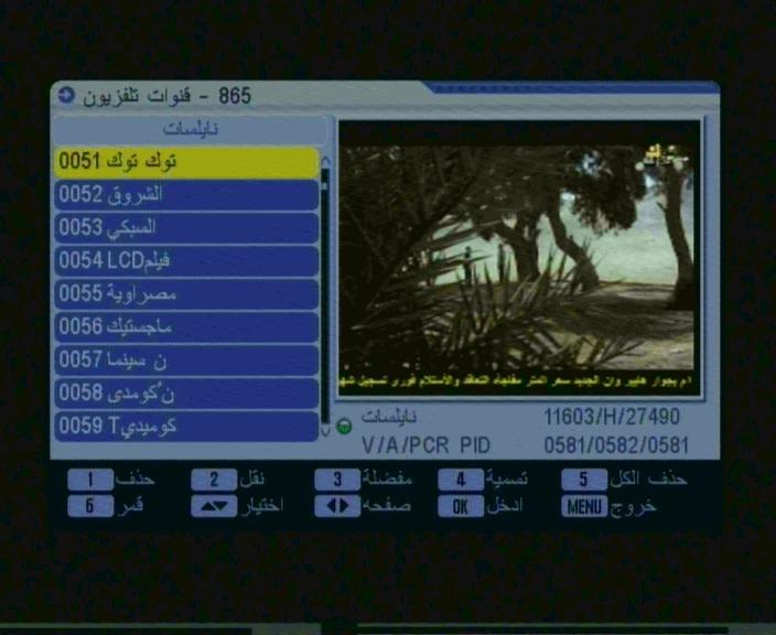 أحدث ملف قنوات عربي لرسيفر Qmax 999 V4 الصيني معالج Ali