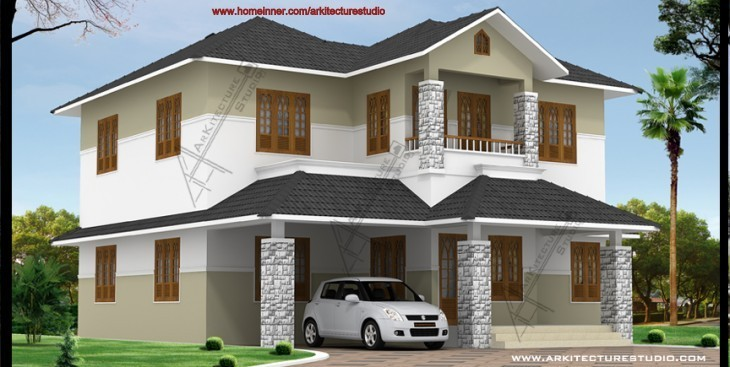 South indian model houses