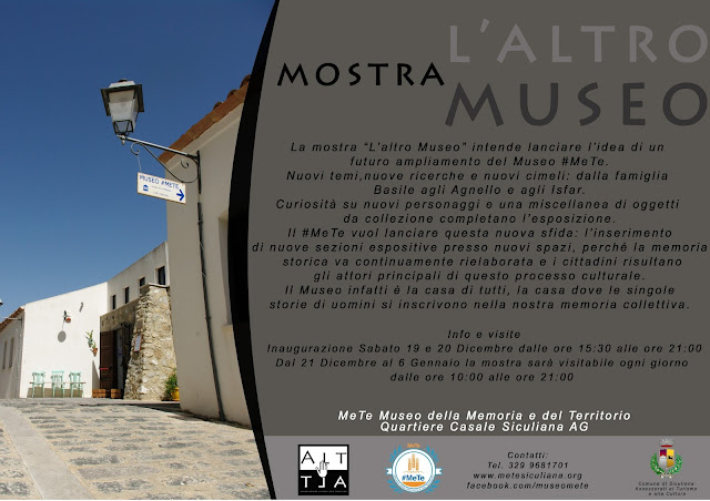 L'altro Museo: mostra storica al Museo #MeTe di Siculiana