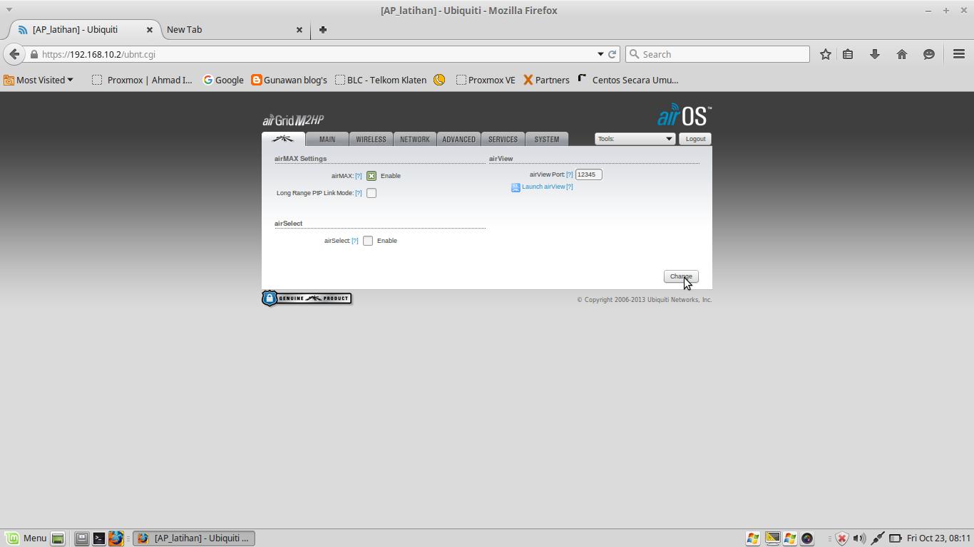 Setting AirGrid M2 HP Sebagai Mode access point - Open The World