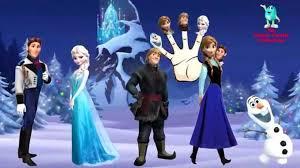Finger Family Frozen