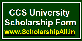 CCS University Scholarship Form