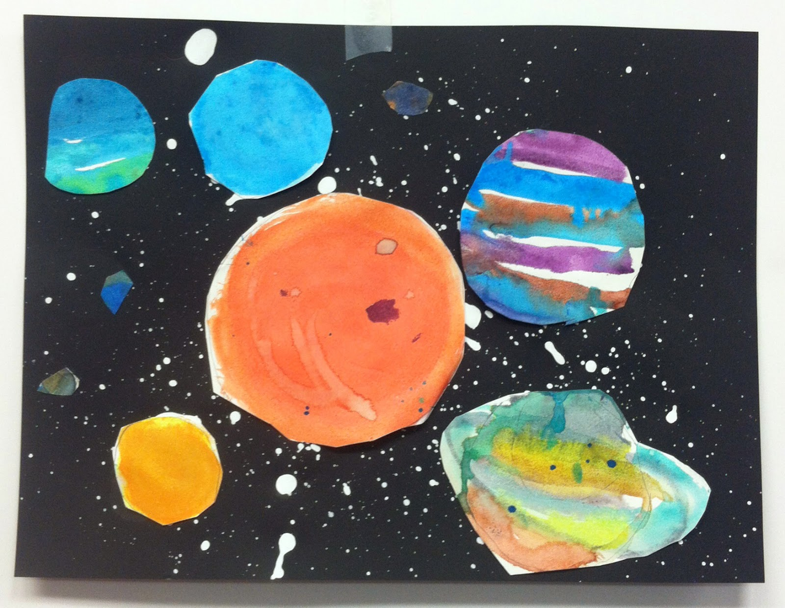 Draw Dee Da First Grade Solar Systems