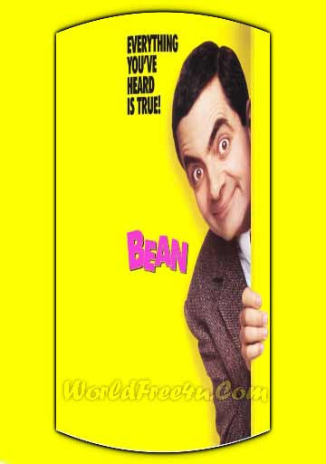 Poster Of Bean (1997) In Hindi English Dual Audio 300MB Compressed Small Size Pc Movie Free Download Only At Worldfree4uk.com