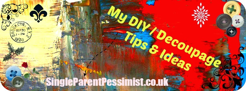 My DIY decoupage tips and ideas