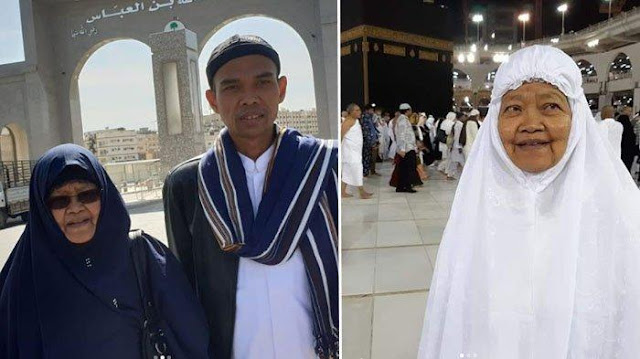 Ibunda Ustaz Abdul Somad Meninggal, Prabowo Sampaikan Ucapan Belasungkawa