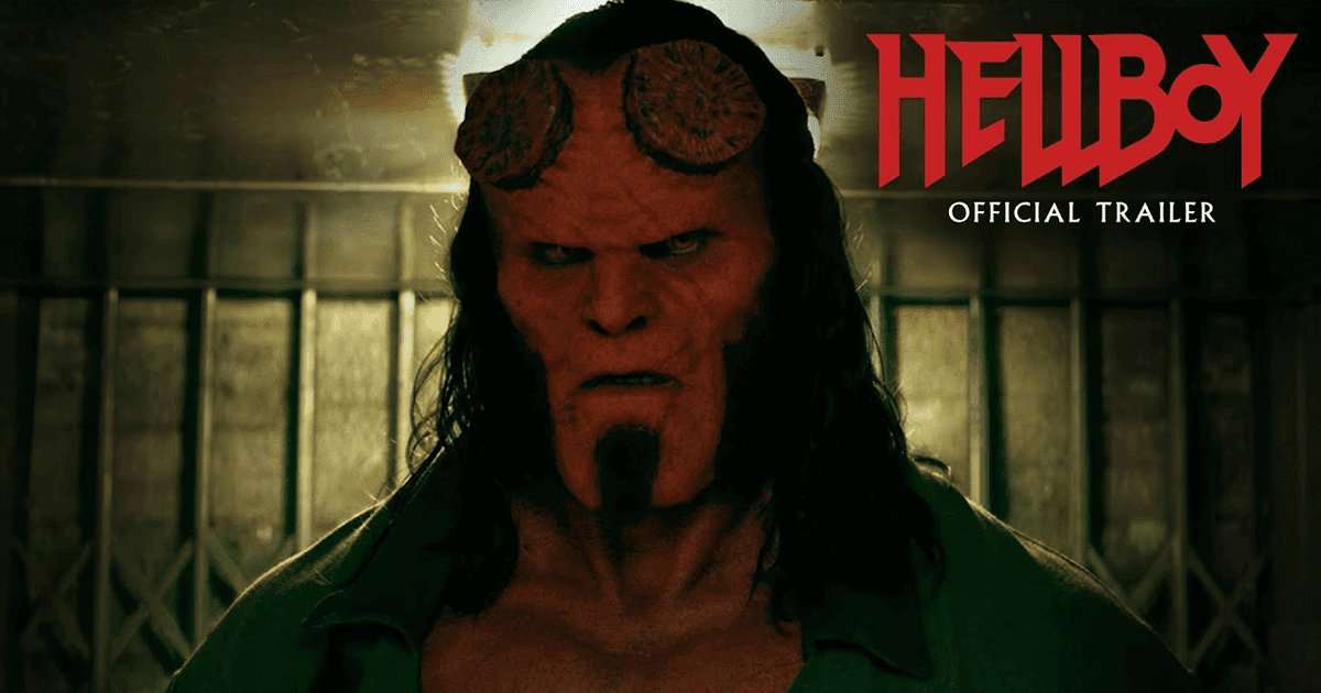 First Hellboy reboot trailer ups the comedy and violence