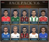 New Face Pack V.6 - PES 2017