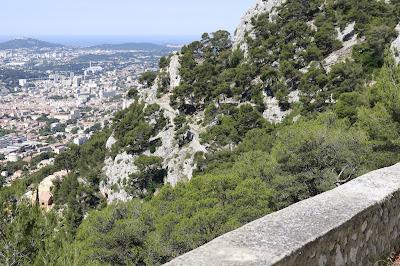 Beklimming Mont Faron Toulon
