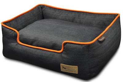 P.L.A.Y.-Urban-Denim-Dog-Lounge-Bed