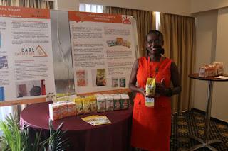 Meet Tei Mukunya founder of Azuri health #Kenya - A  Food Processing Company