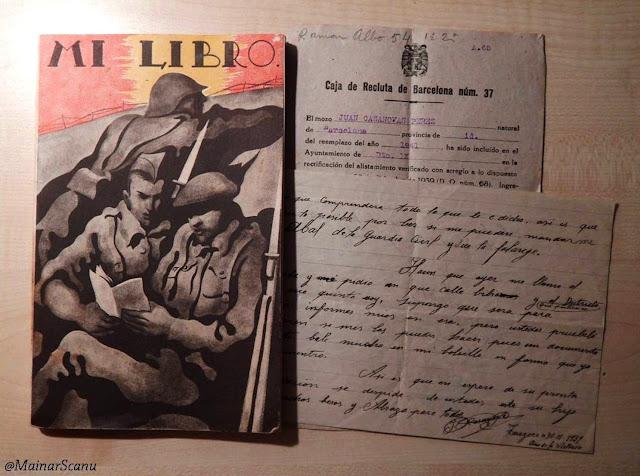 """""""Mi libro"""", el manual pel soldat franquista"""
