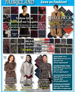 Fabricland Flyer Canada January 4 - 31, 2018