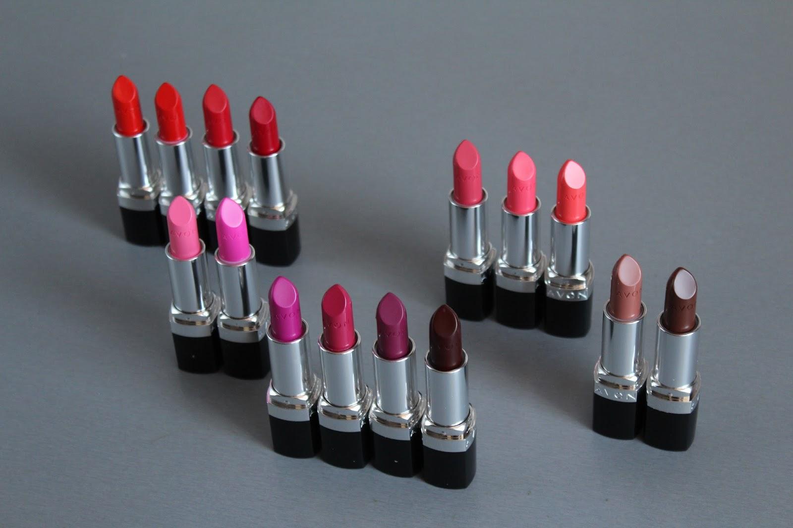 AVON Ultra Colour Bold ruževi - sve nijanse, recenzija i swatchevi