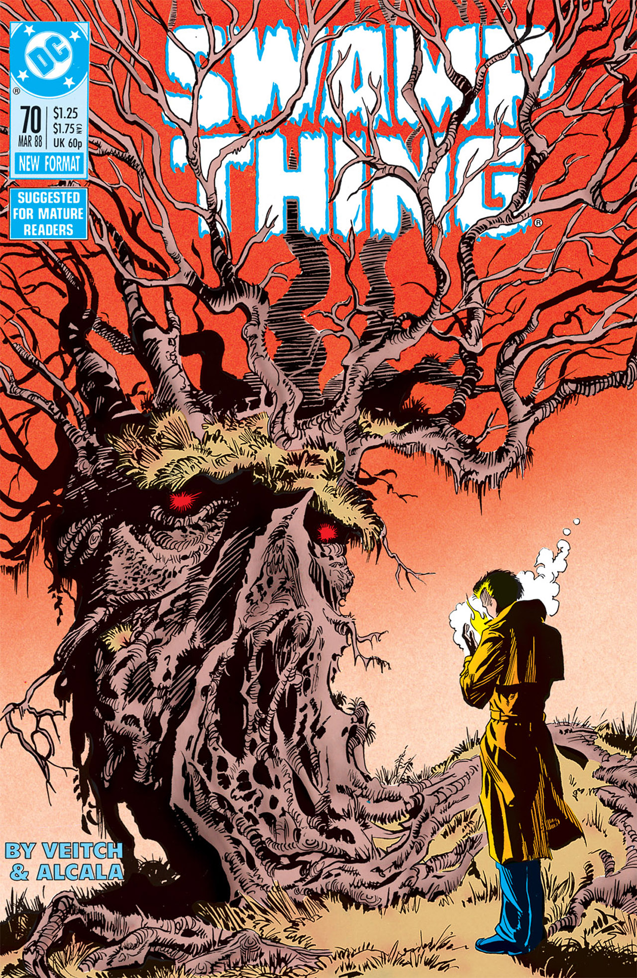 Swamp Thing (1982) Issue #70 #78 - English 1