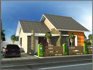 Bentuk Atap Rumah Minimalis 1