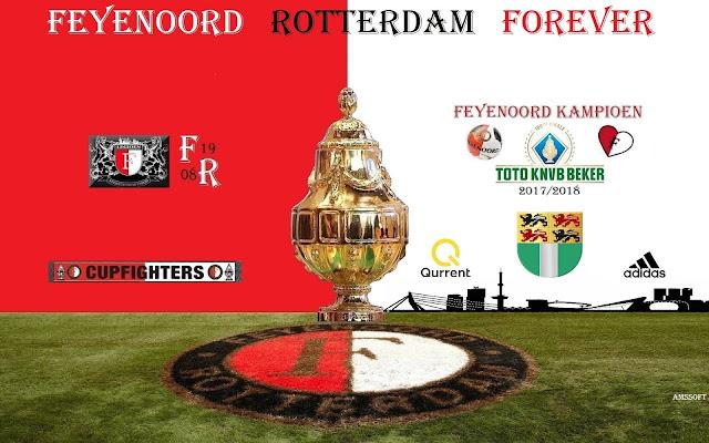 Feyenoord KNVB beker winnaar 2017 - 2018