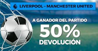 Paston Promoción: Liverpool vs Manchester United 14 octubre