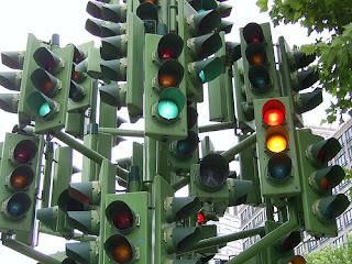 trafik lambaları lambasız trafik