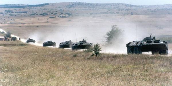 Kλιμάκωση: Σκοπιανά τεθωρακισμένα εισέβαλαν στο Τέτοβο