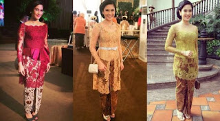 Baju Kebaya Kartini Dian Sastrowardoyo Artis Cantik Indonesia 2016