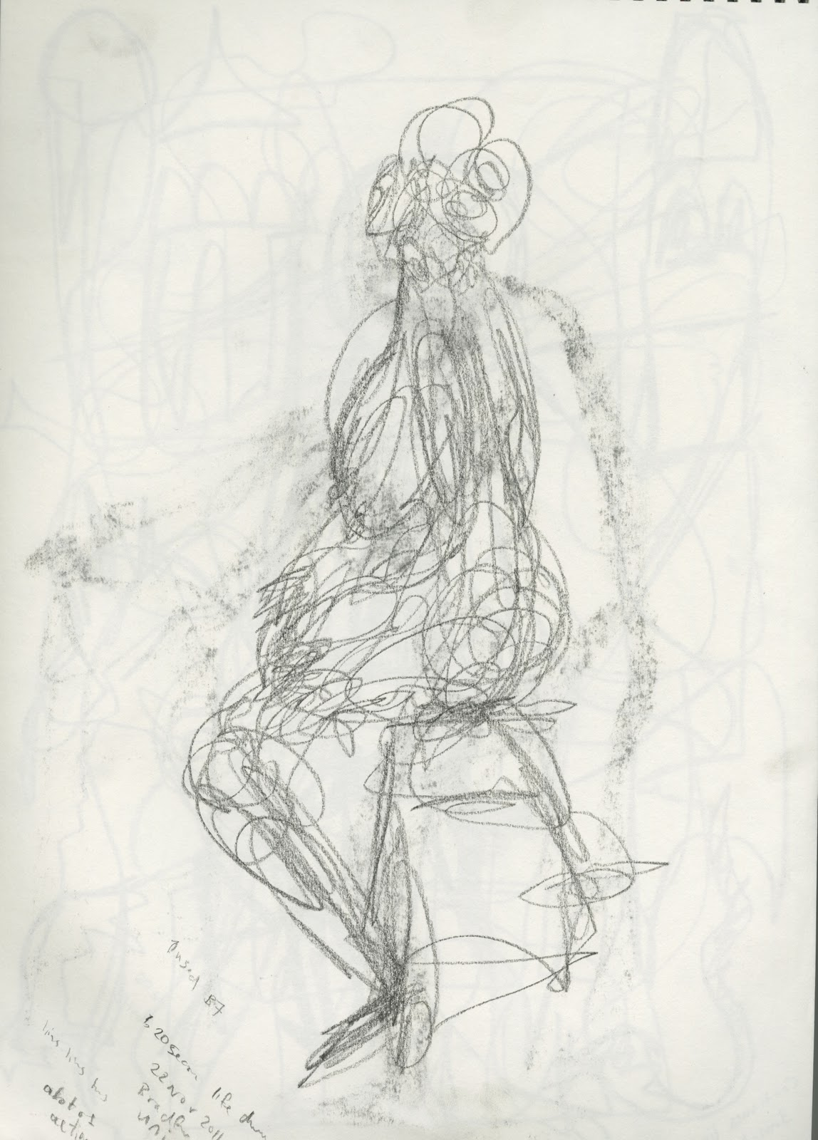 SarokZana O D: Week: 9 Life Drawing and Basic Human Anatomy