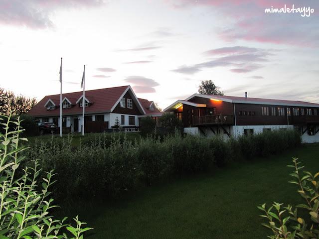 Hotel Hekla. Exterior