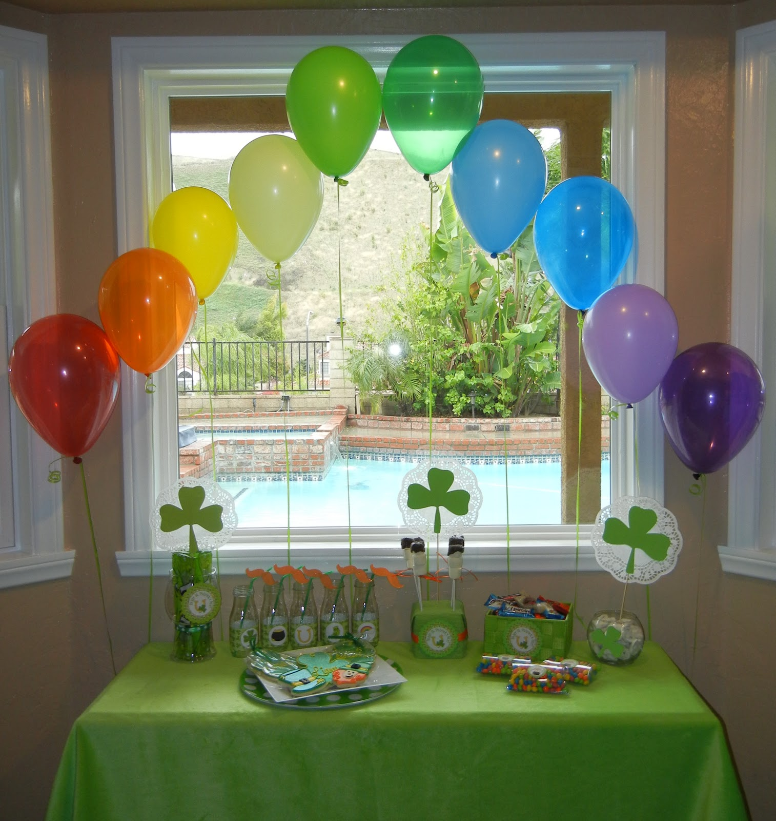Welcome and happy st patrick 39 s day michelle 39 s party for Decor st