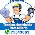 Santa Cruz: Tecnico Electricista domiciliario