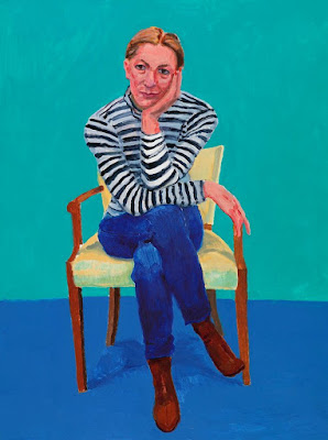 David Hockney -  Edith Devaney,2016