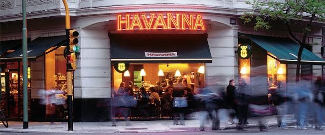 Cafés Havanna em Buenos Aires