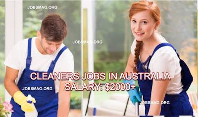 Jobs in Australia: House Cleaners Job Vacancy in Australia – Apply Now