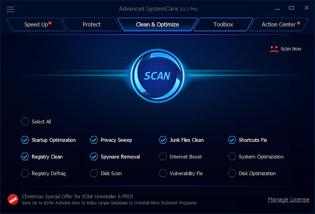 Advanced SystemCare 10.1 Serial Crack Key Number License Code