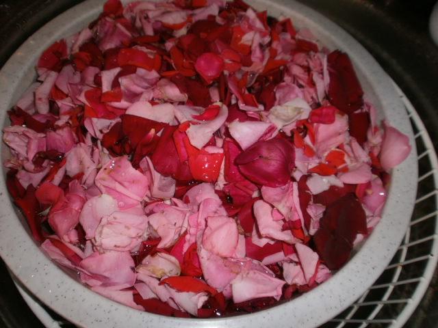 Le Ricette Di Chara Gelatina Di Petali Di Rosa