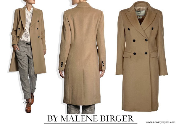 Princess Marie wore By Malene Birger Torun winter coat