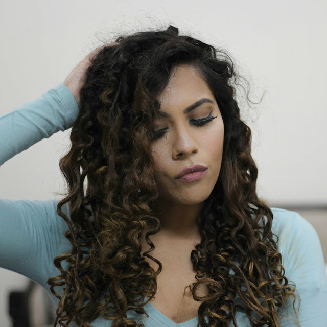 DIY Straw Ringlet Curls- Try it Tuesday (No Hair Curler) | Indian ...