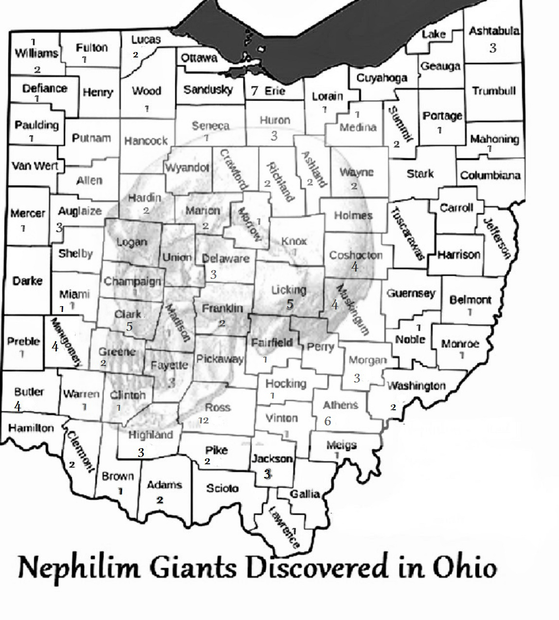 Image Result For Huron County Ohio Map