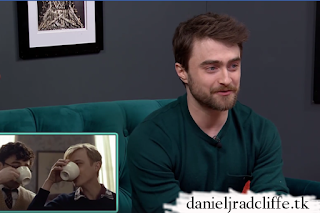 Daniel Radcliffe on Couch Surfing