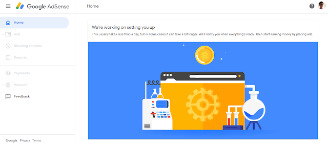 Daftar Akun Google Adsense 4
