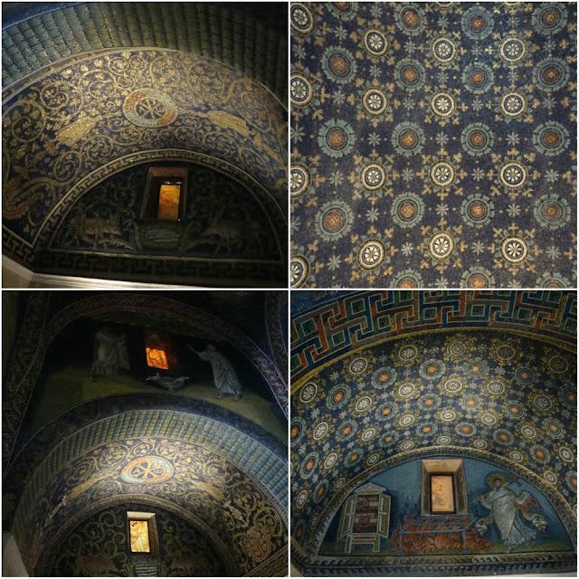 Os mosaicos de Ravenna (Itália) - Mausoléu de Gala Placídia