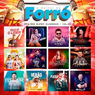 MP3 – O Melhor do Forró – Vol.40 (2019)