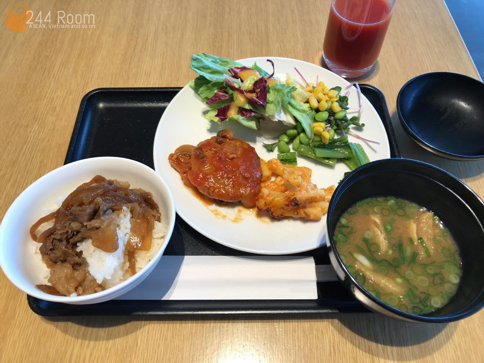 JAL牛丼 sakuralounge-Gyudon2