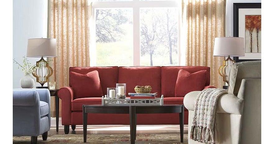 Modern Furniture: Havertys Contemporary Living Room Design ...
