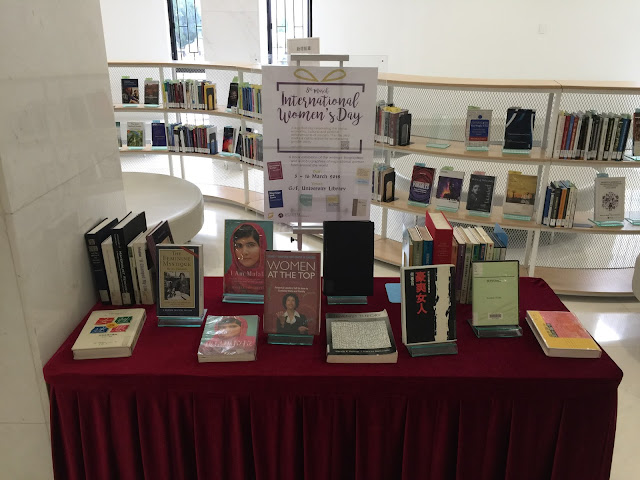 International Women's Day Book Exhibition