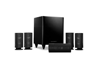 Channel Home Theater Speaker System with 200W Powered Subwoofer